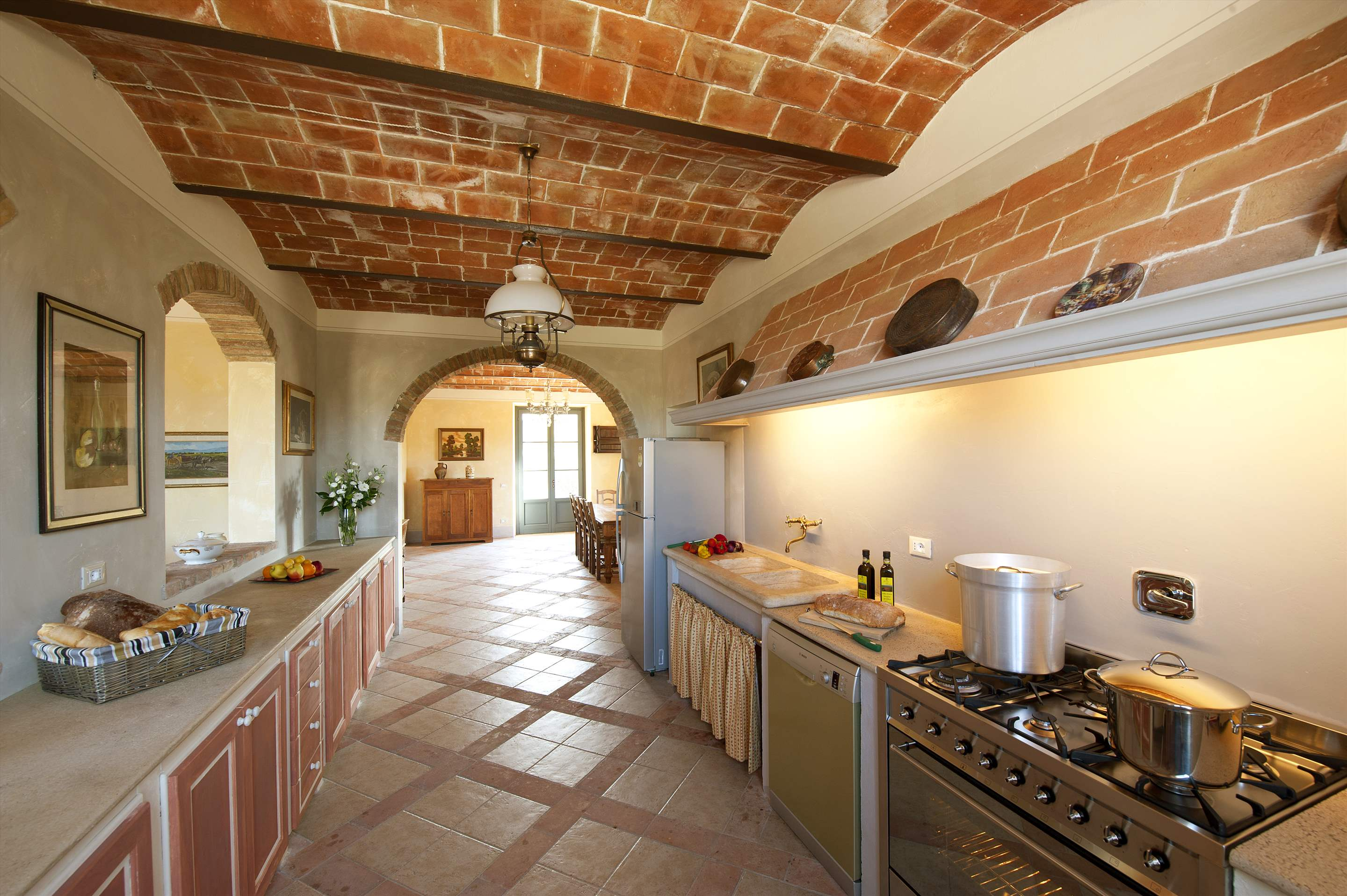 Podere Di Collina, Villa & Apts, 8 bedroom villa in Tuscany Coast, Tuscany Photo #8