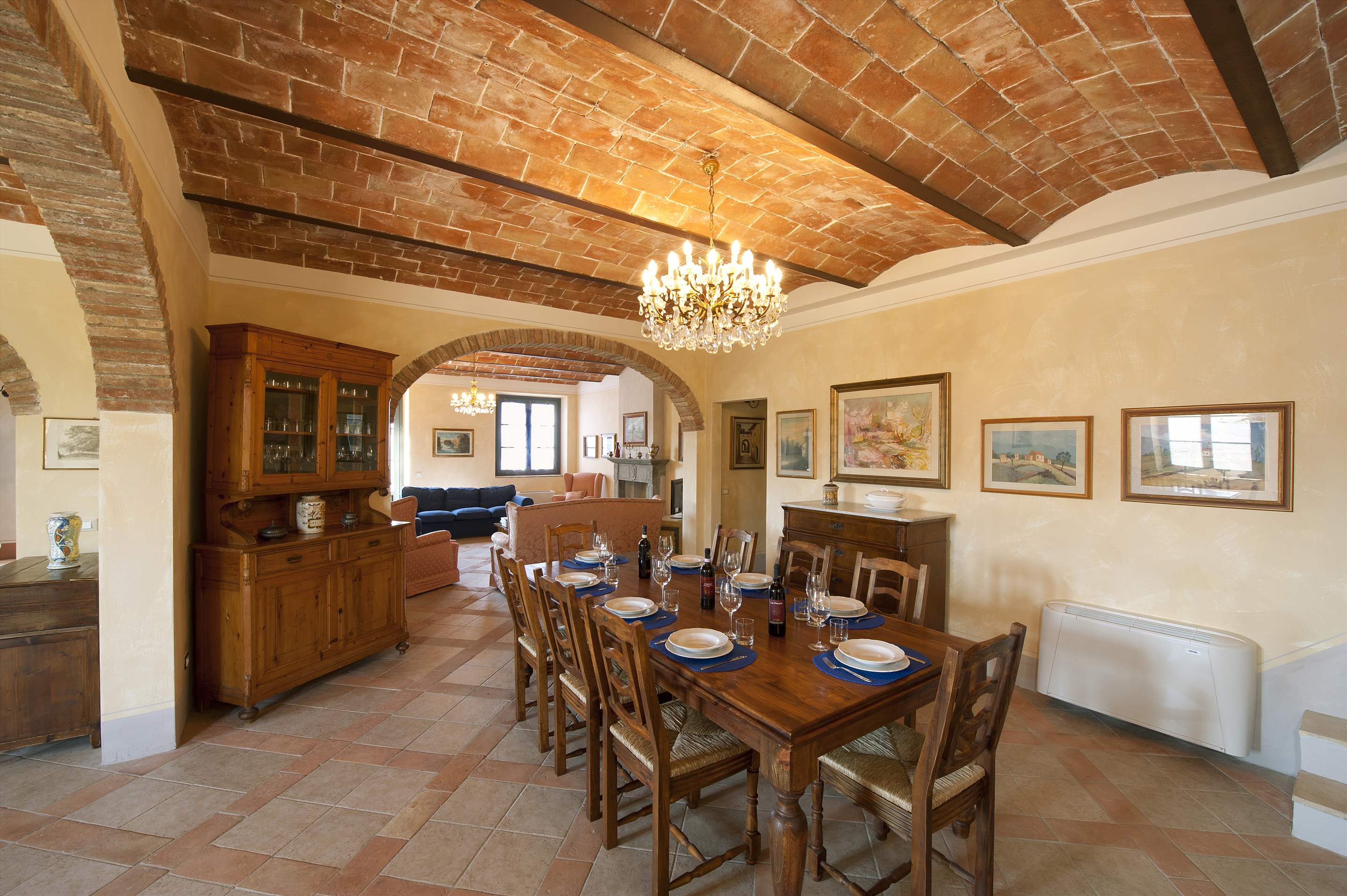 Podere Di Collina, Villa & Apts, 8 bedroom villa in Tuscany Coast, Tuscany Photo #9
