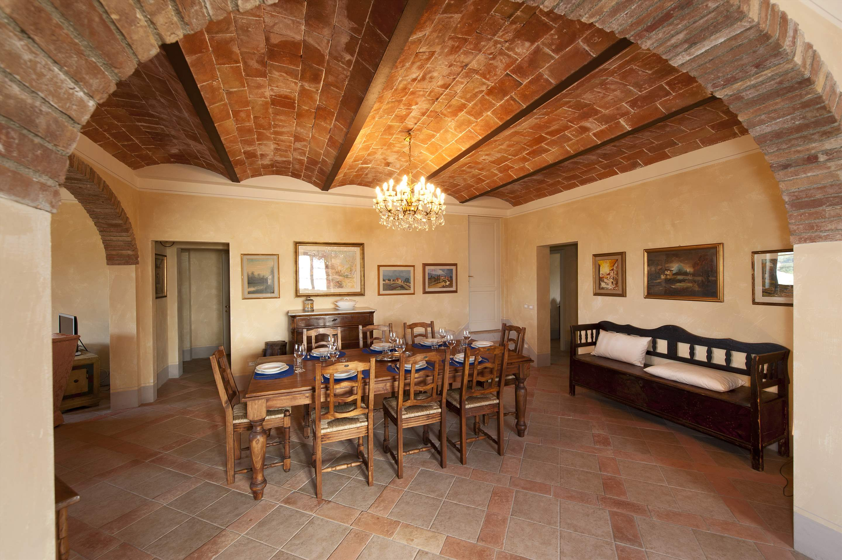 Podere Casacce, Ground Floor, 4 bedroom villa in Tuscany Coast, Tuscany Photo #11