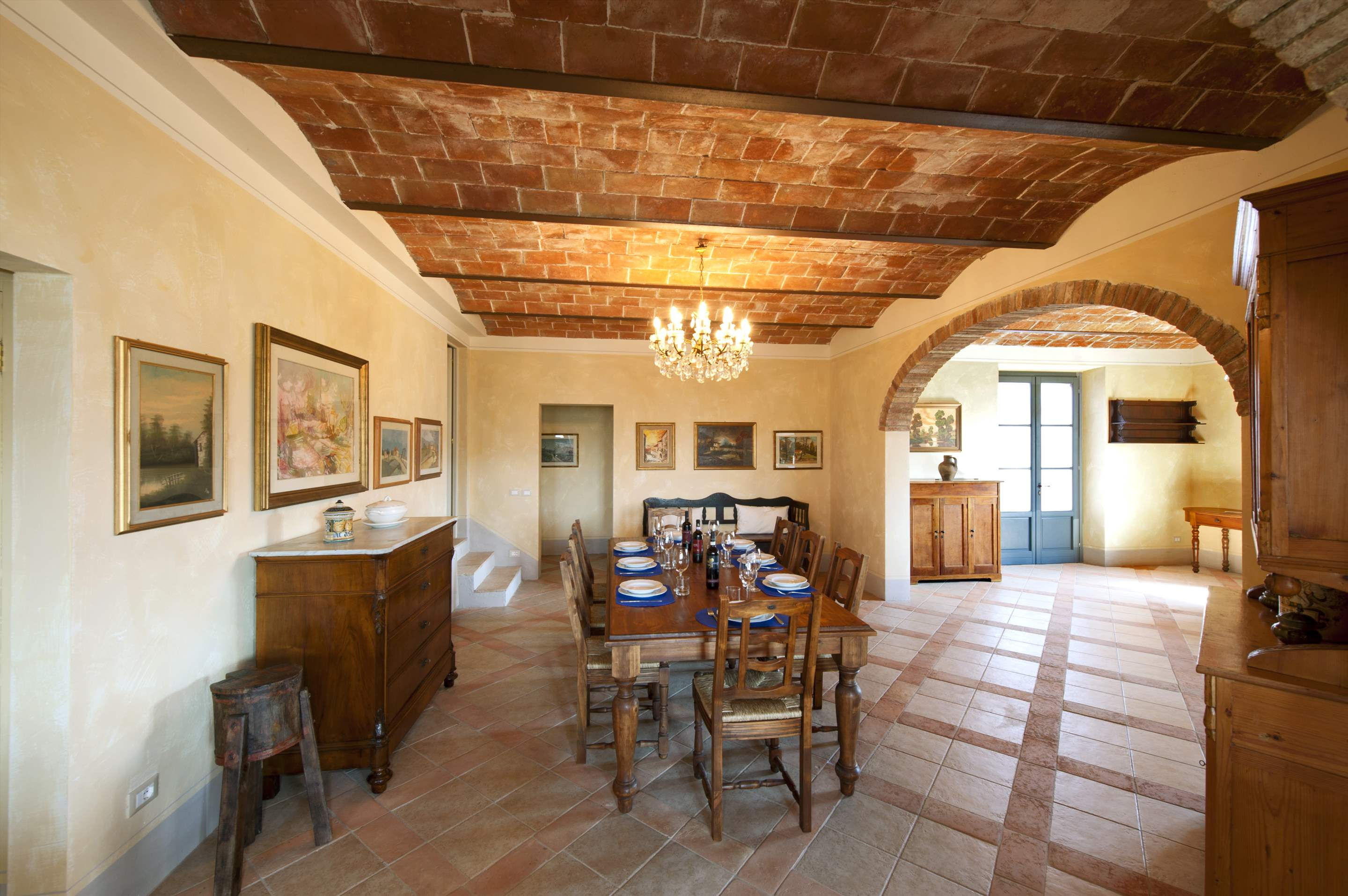 Podere Di Collina, First Floor, 4 bedroom villa in Tuscany Coast, Tuscany Photo #10