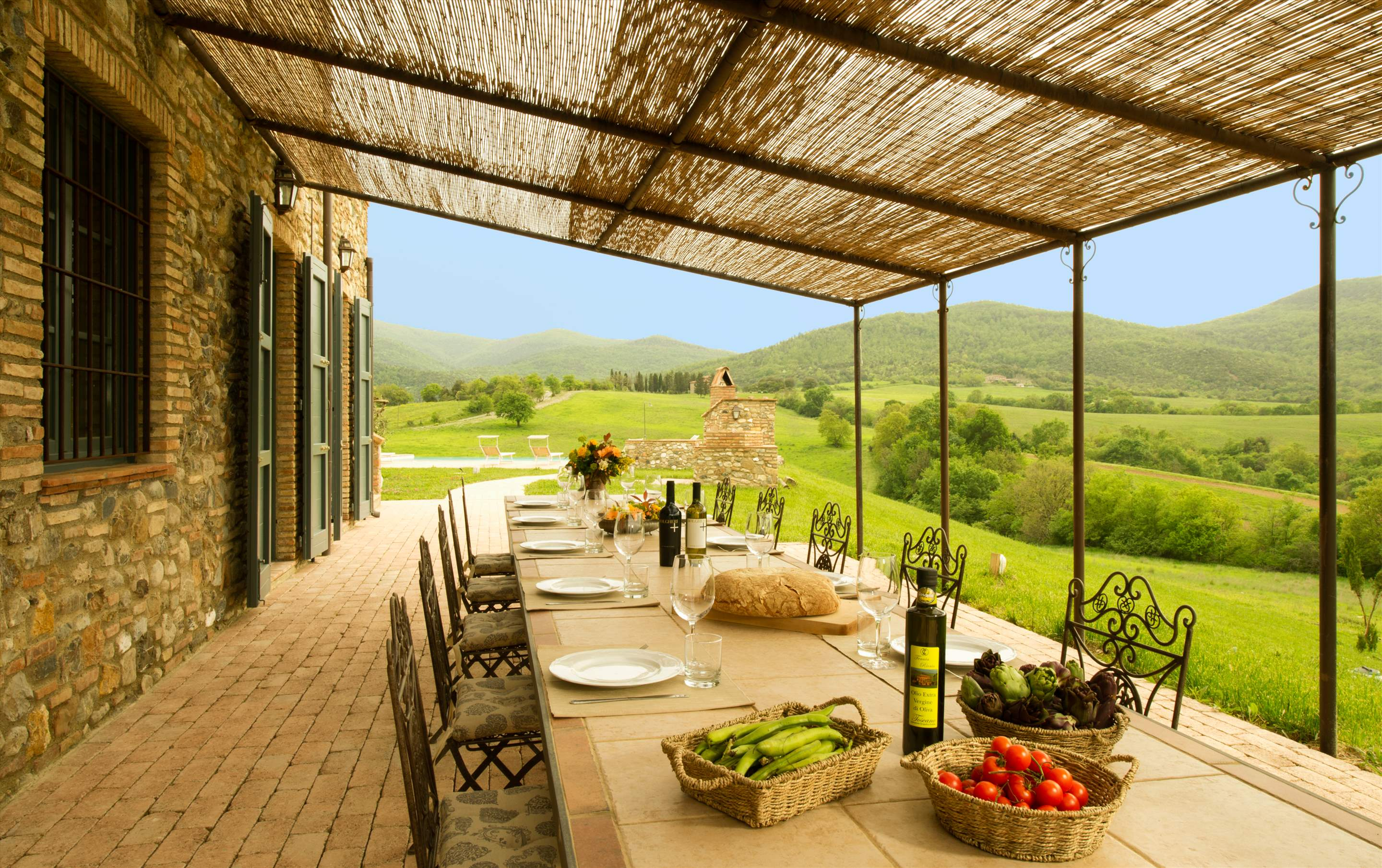 Podere Di Collina, First Floor, 4 bedroom villa in Tuscany Coast, Tuscany Photo #4