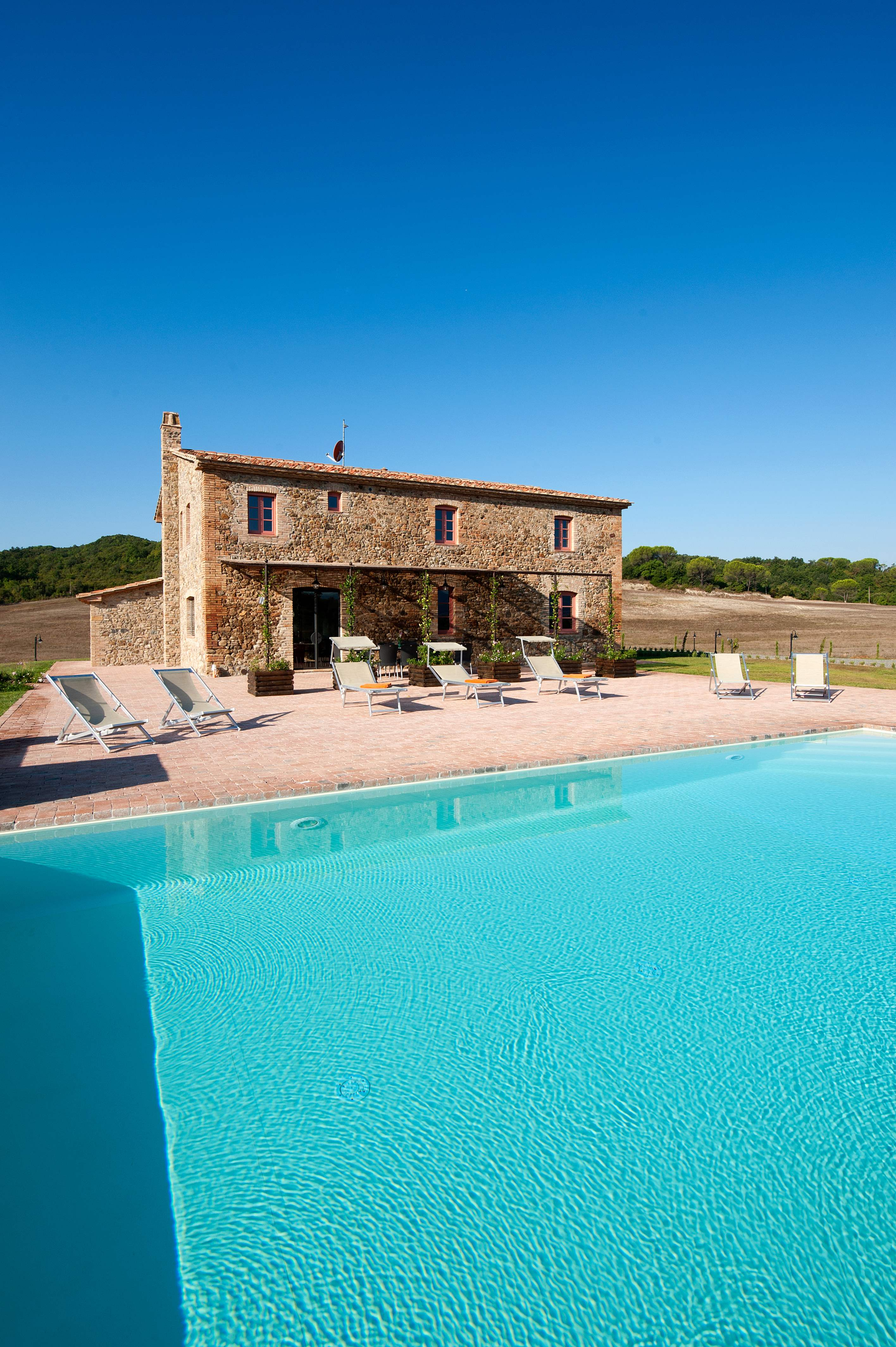 Villa Rosa, & Annexe , 6 bedroom villa in Tuscany Coast, Tuscany Photo #12