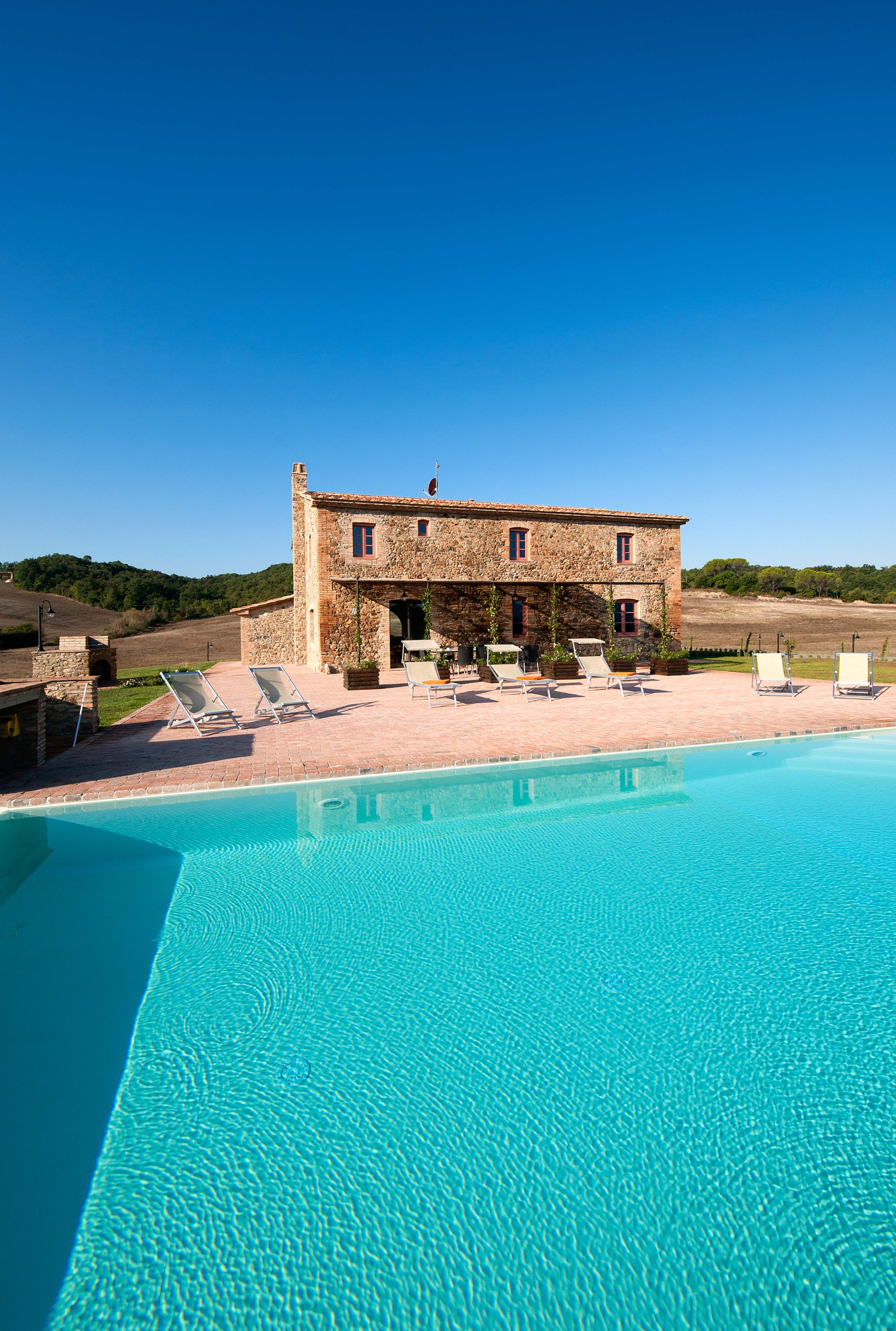 Villa Rosa, & Annexe , 6 bedroom villa in Tuscany Coast, Tuscany Photo #22
