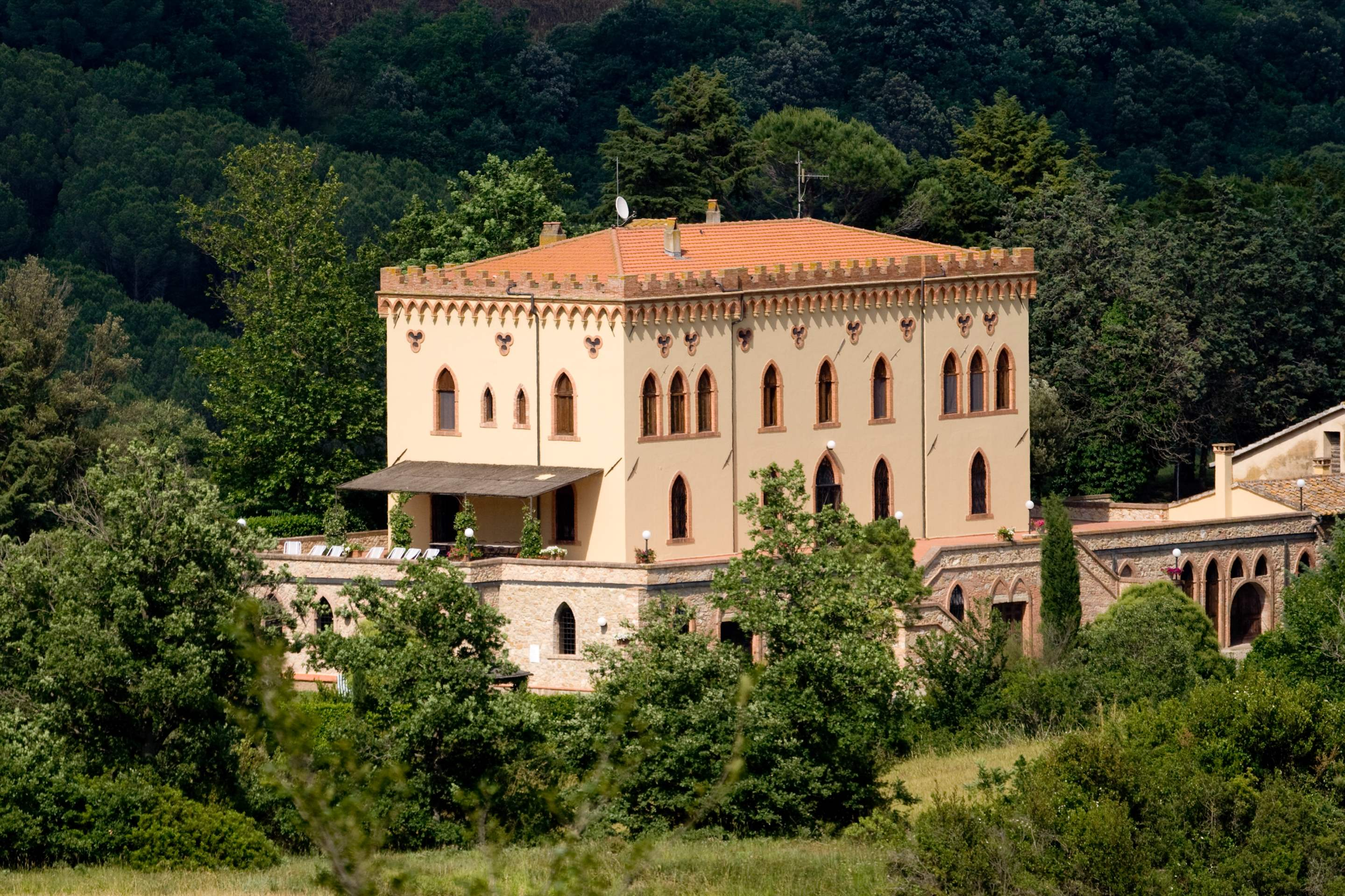 Villa Di Archi & Dependance, 9 bedroom villa in Tuscany Coast, Tuscany Photo #31