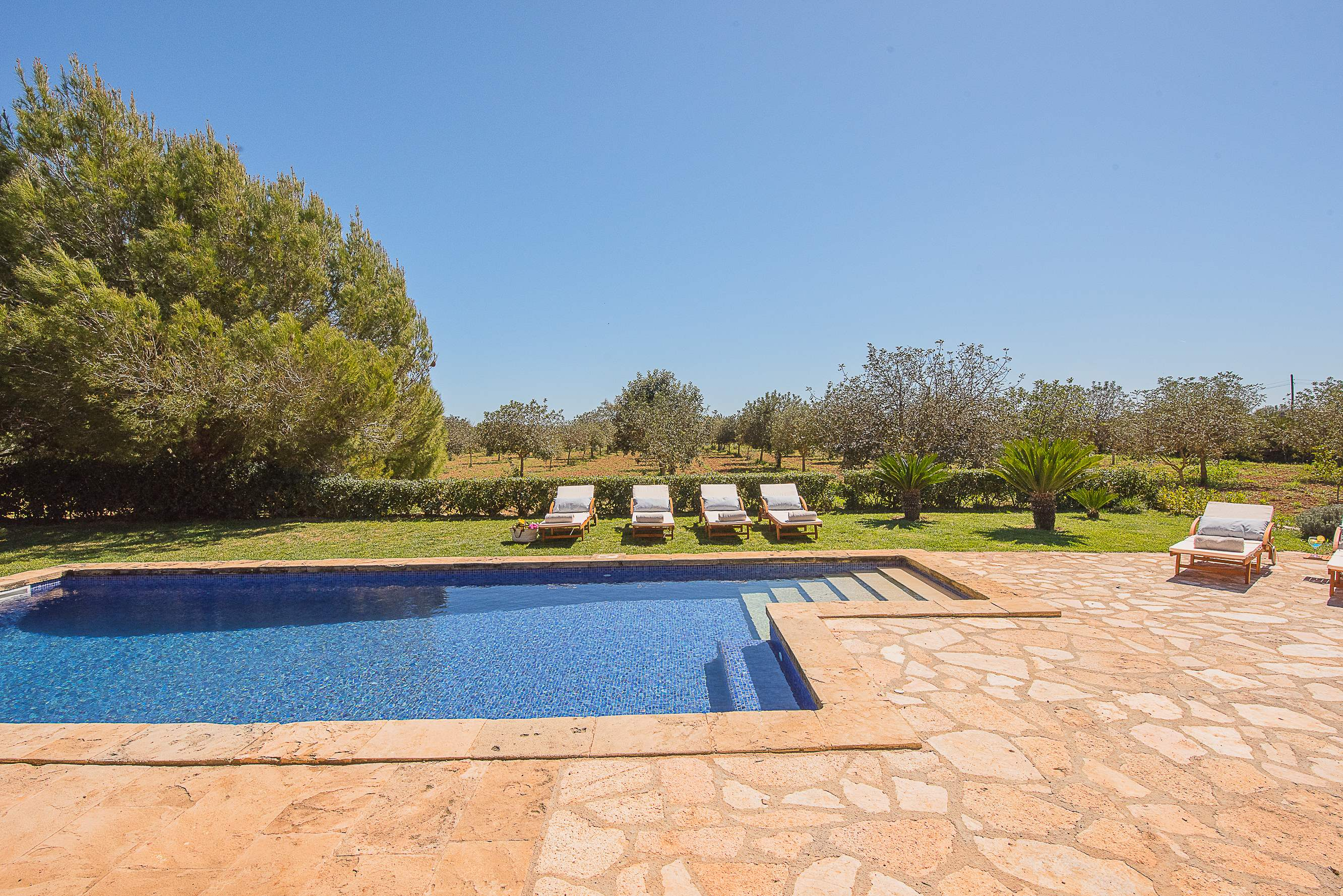 Villa Ses Quaranta, 4 bedroom villa in Campos & Sa Rapita , Majorca Photo #12