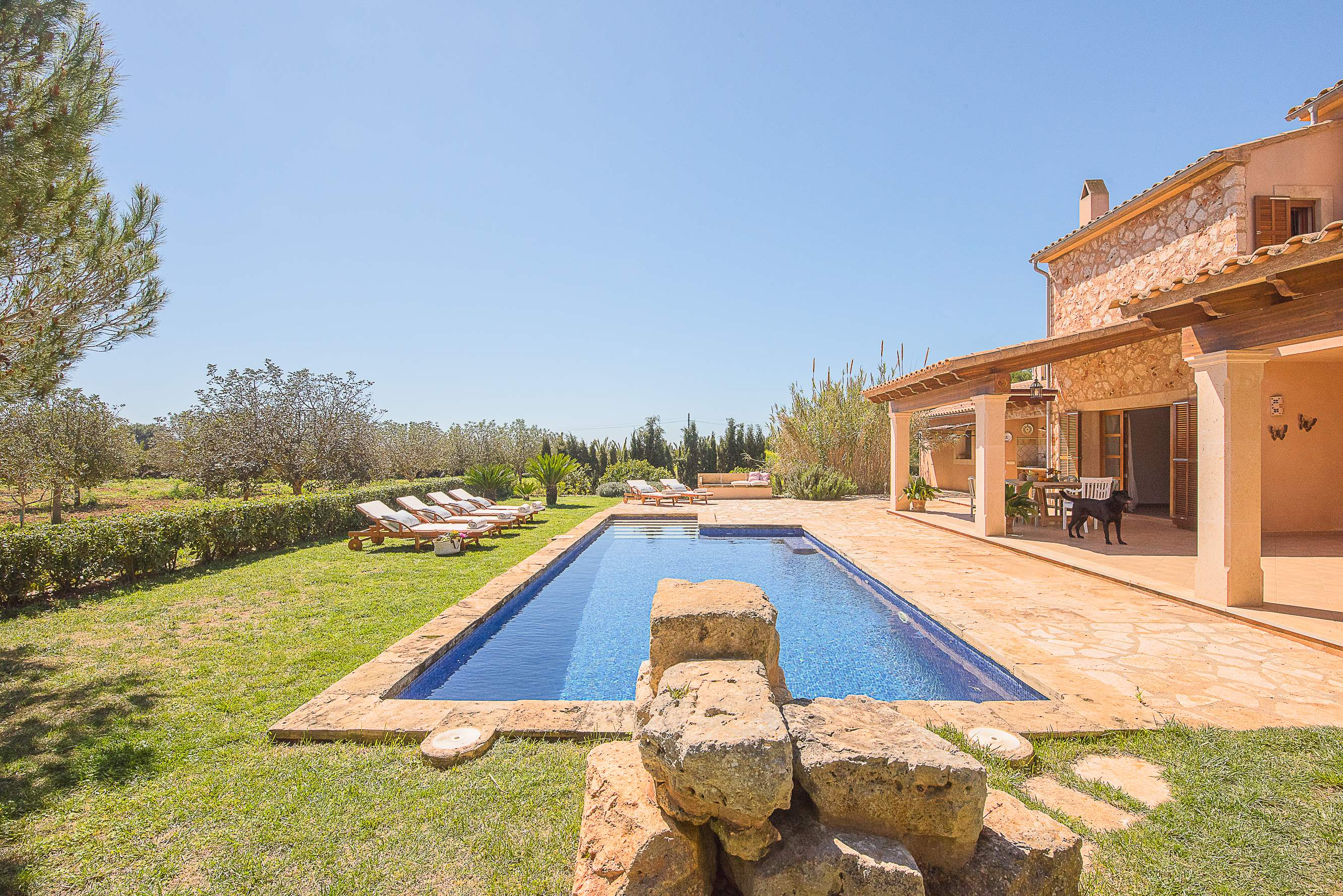 Villa Ses Quaranta, 4 bedroom villa in Campos & Sa Rapita , Majorca Photo #2