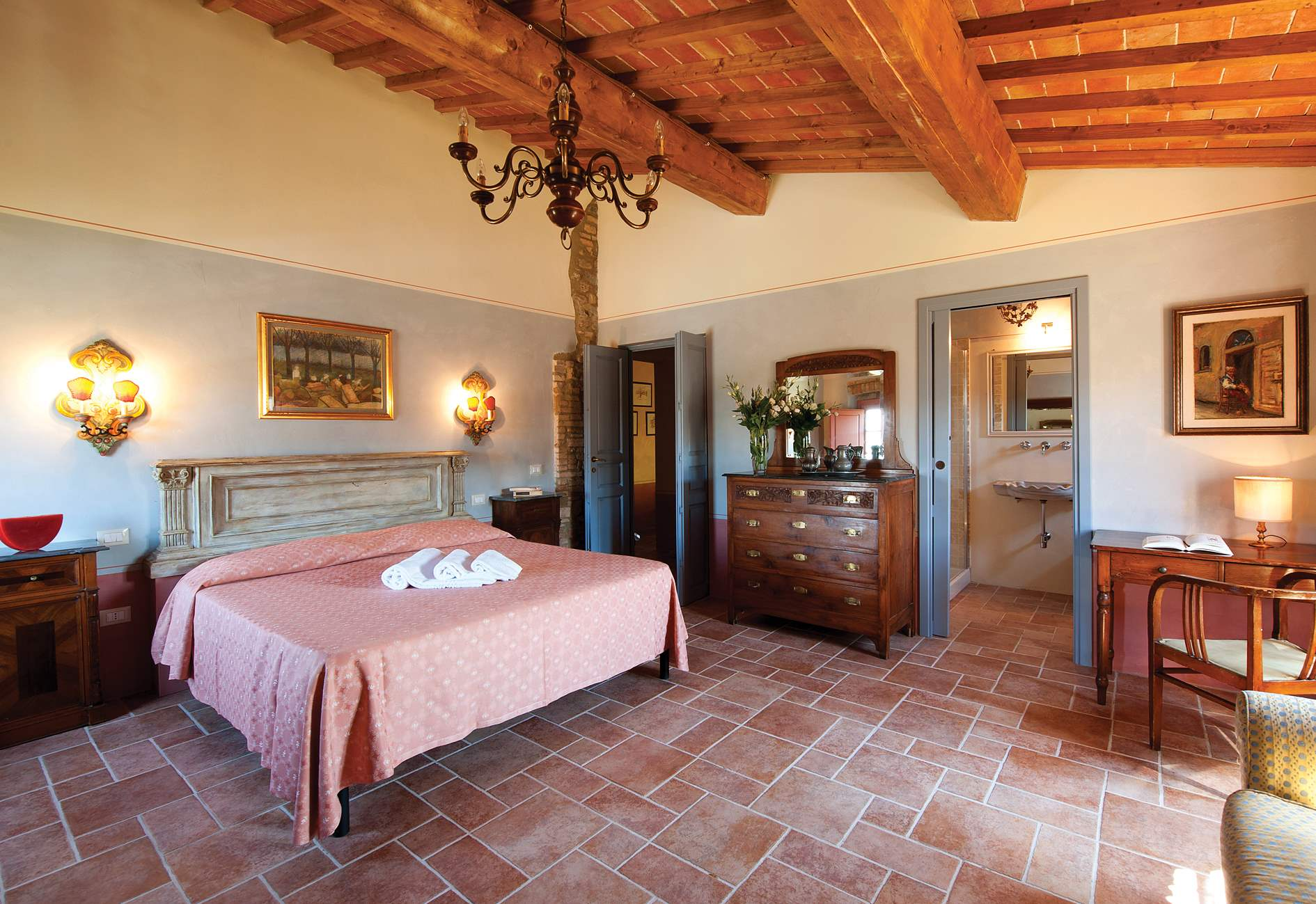 Podere I Gotti, 5 bedroom villa in Tuscany Coast, Tuscany Photo #14