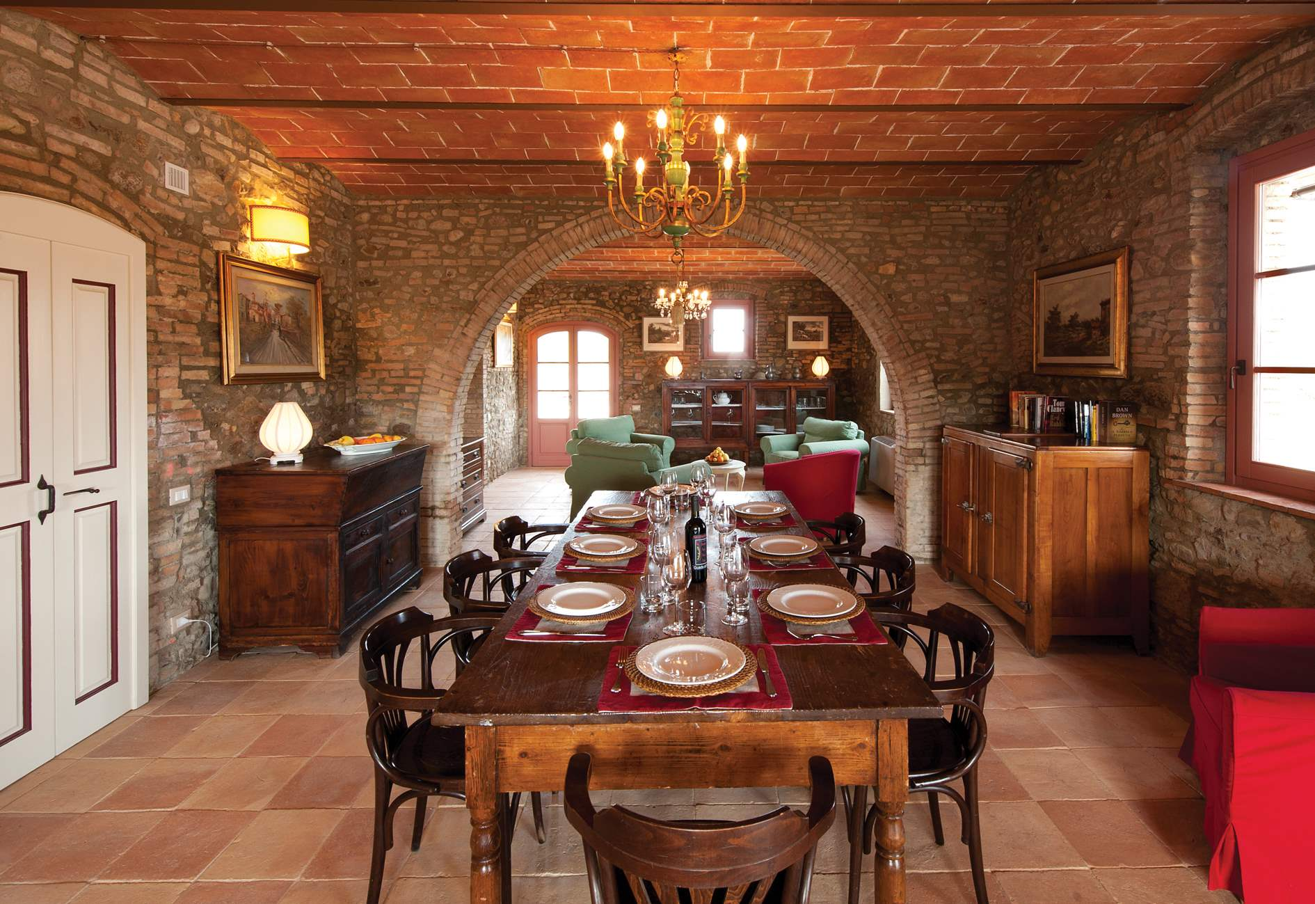 Podere I Gotti, 5 bedroom villa in Tuscany Coast, Tuscany Photo #4