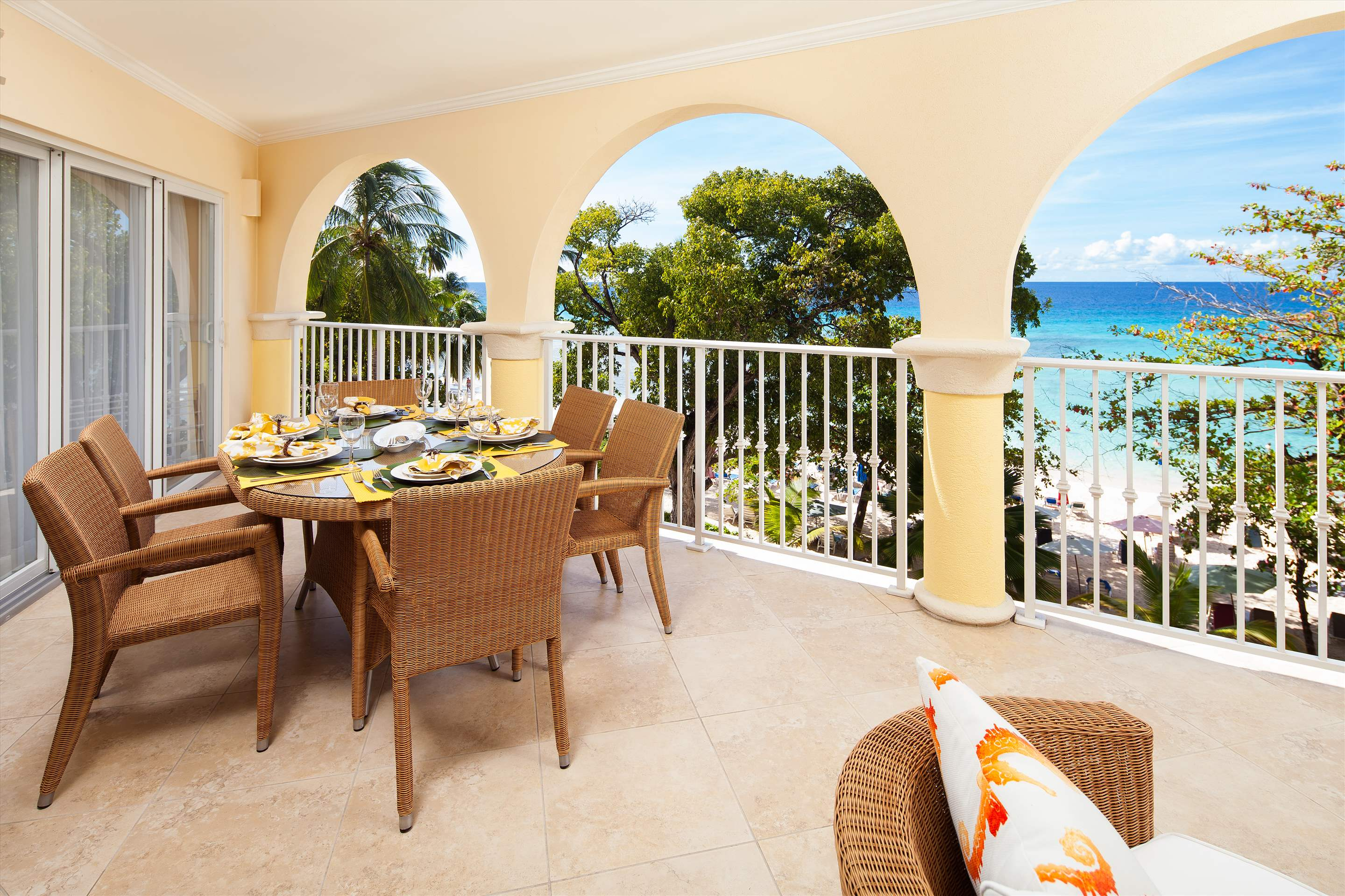 Sapphire Beach 309, 2 bedroom, 2 bedroom apartment in St. Lawrence Gap & South Coast, Barbados Photo #2