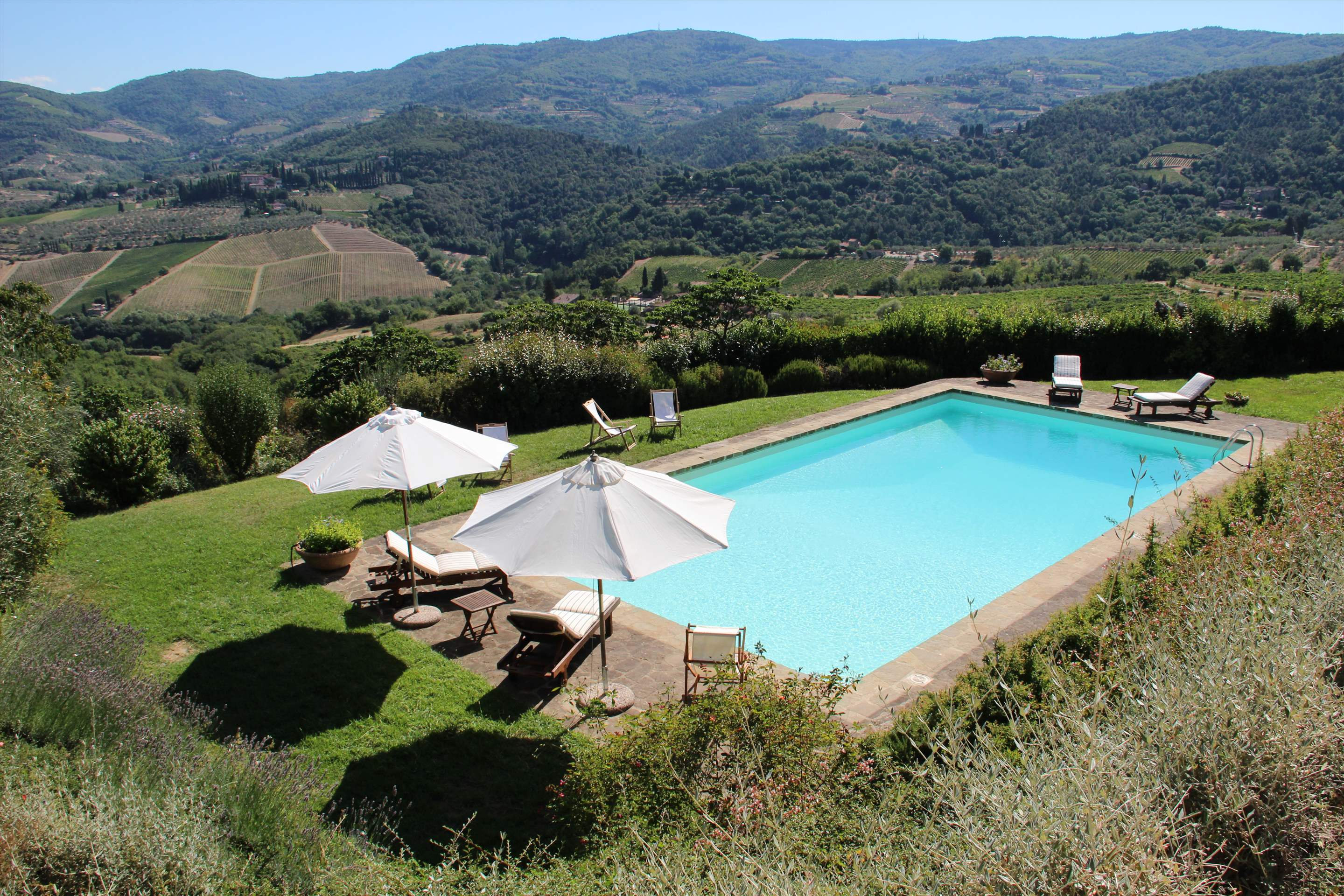 Casa Panoramica, 3 bedroom villa in Chianti & Countryside, Tuscany