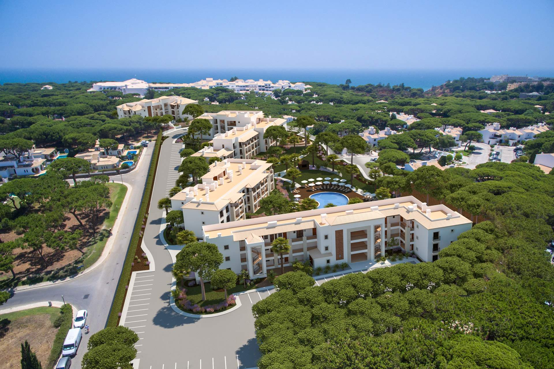 Pine Cliffs Gardens, Two Bedroom Suite, S/C Basis, 2 bedroom apartment in Pine Cliffs Resort, Algarve Photo #10