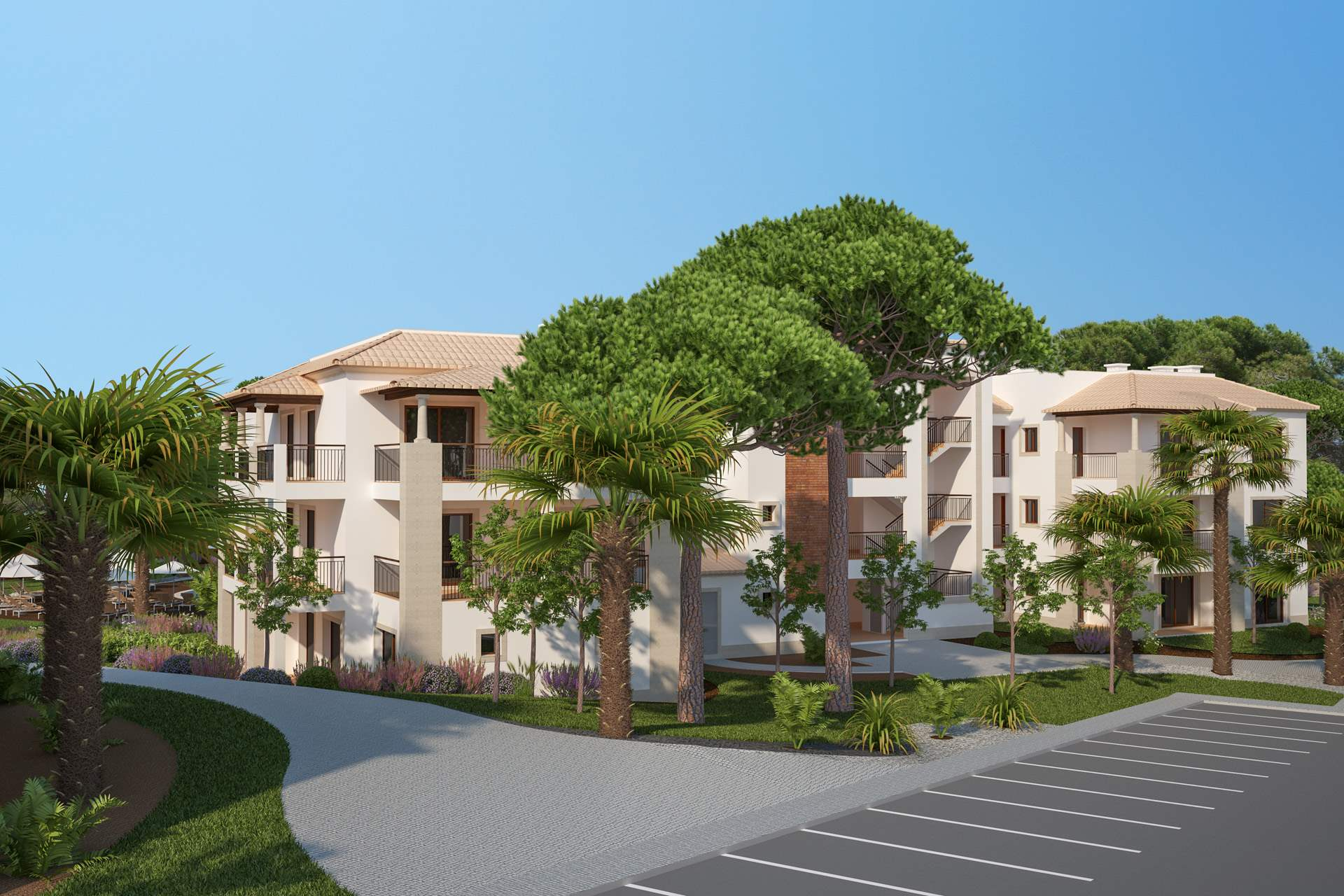 Pine Cliffs Gardens, Two Bedroom Suite, S/C Basis, 2 bedroom apartment in Pine Cliffs Resort, Algarve Photo #23