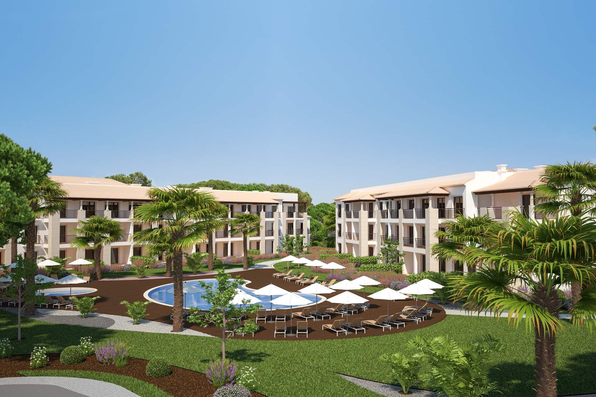 Pine Cliffs Gardens, Two Bedroom Suite, S/C Basis, 2 bedroom apartment in Pine Cliffs Resort, Algarve Photo #9