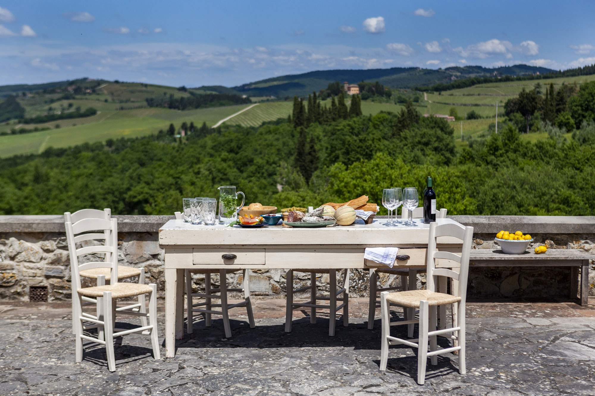 Villa Del Vino, 5 bedroom villa in Chianti & Countryside, Tuscany Photo #4