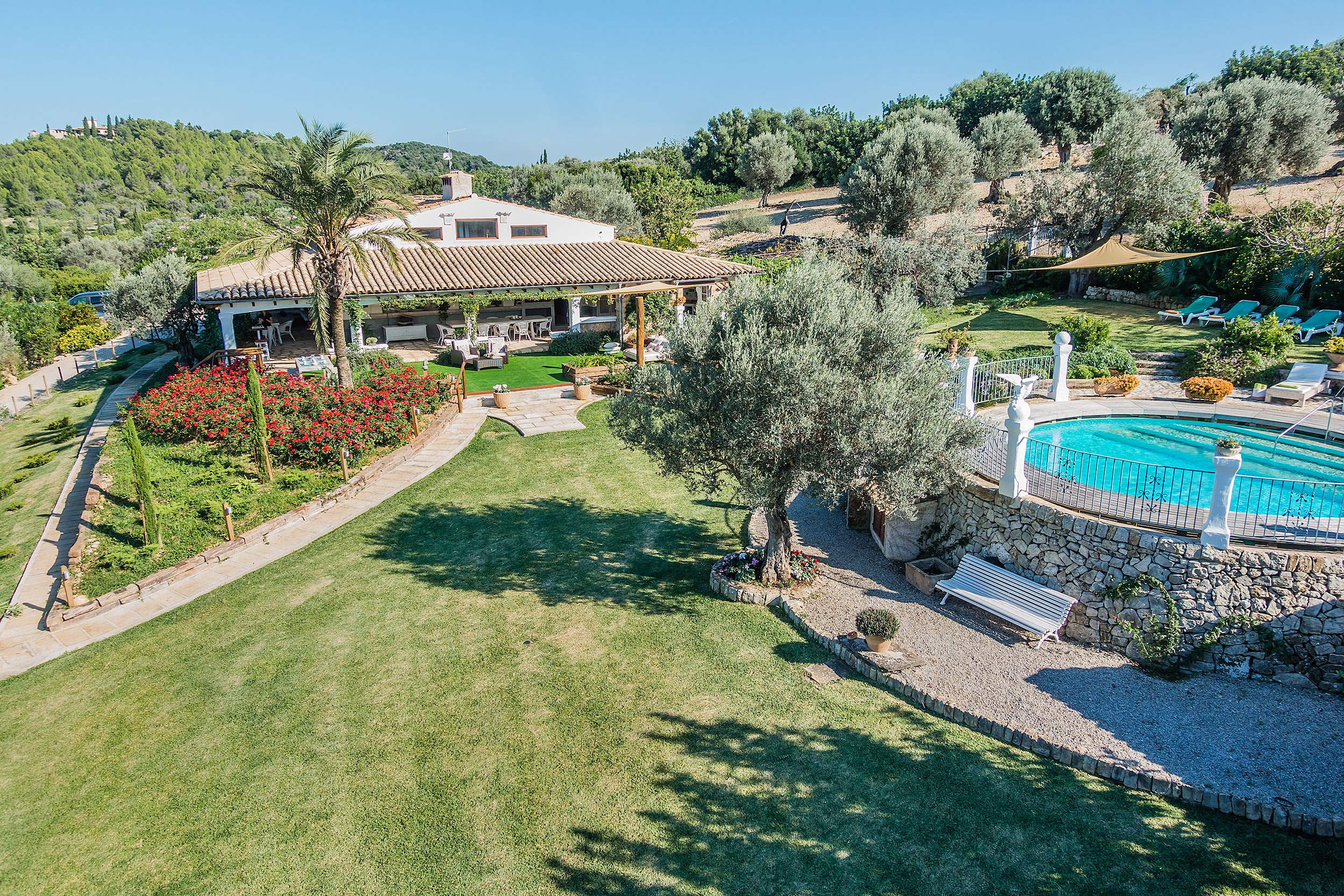 La Rota, 9 - 12 persons, 6 bedroom villa in Pollensa & Puerto Pollensa , Majorca Photo #2